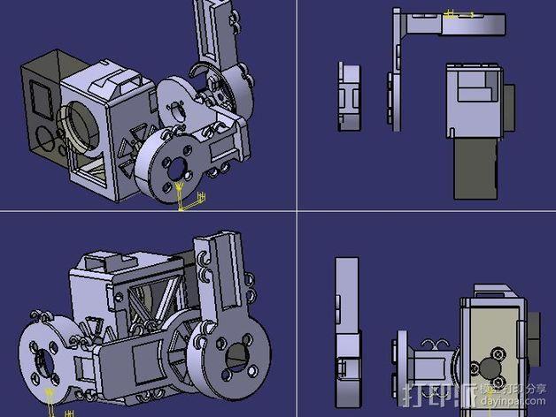 架子 3D模型  图1