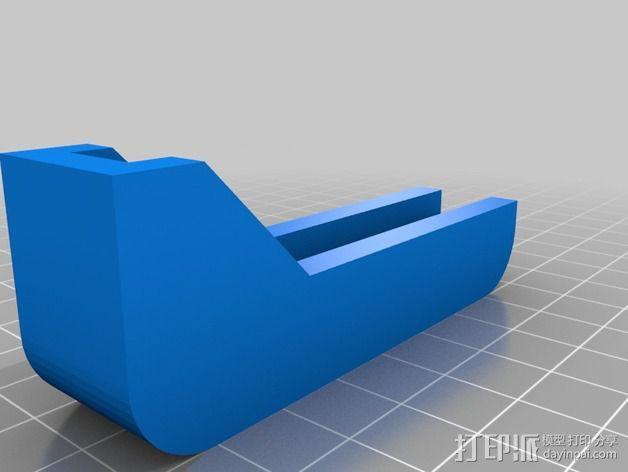 iPhone4 三脚架 3D模型  图2