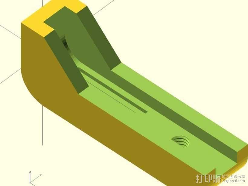 iPhone4 三脚架 3D模型  图1