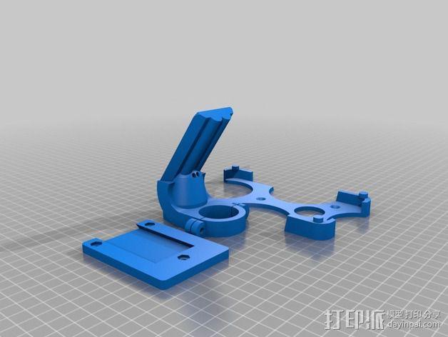 GalaxyS5车载手机座 3D模型  图2