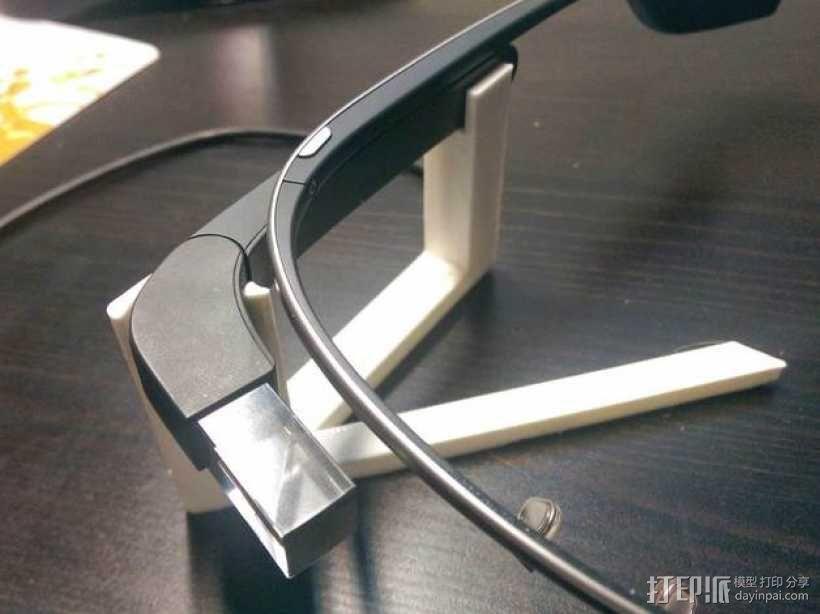 谷歌眼镜充电座 3D模型  图1