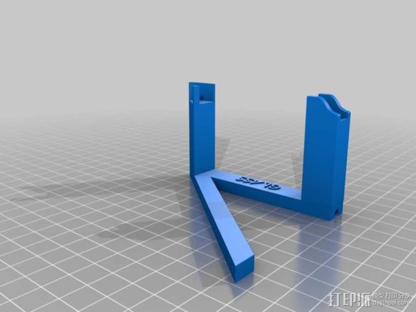 谷歌眼镜充电座 3D模型  图2