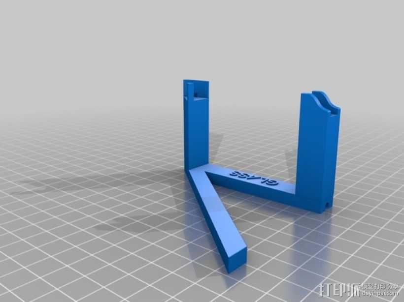 谷歌眼镜充电座 3D模型  图4