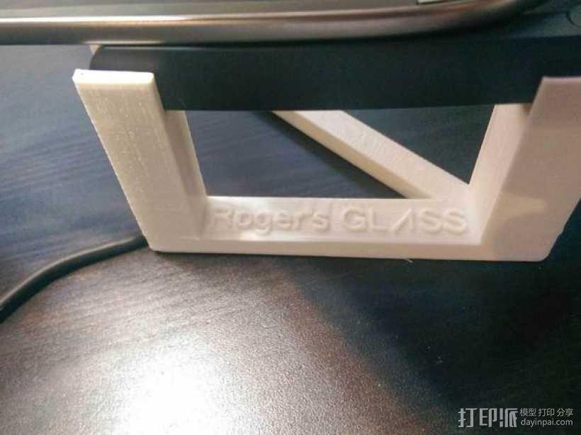 谷歌眼镜充电座 3D模型  图6