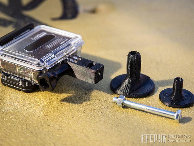 GoPro支架 3D模型  图4