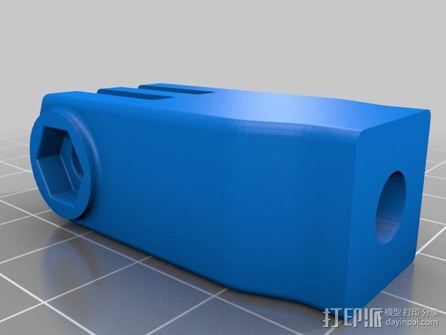 GoPro支架 3D模型  图5