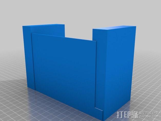 灯状加热器 3D模型  图2