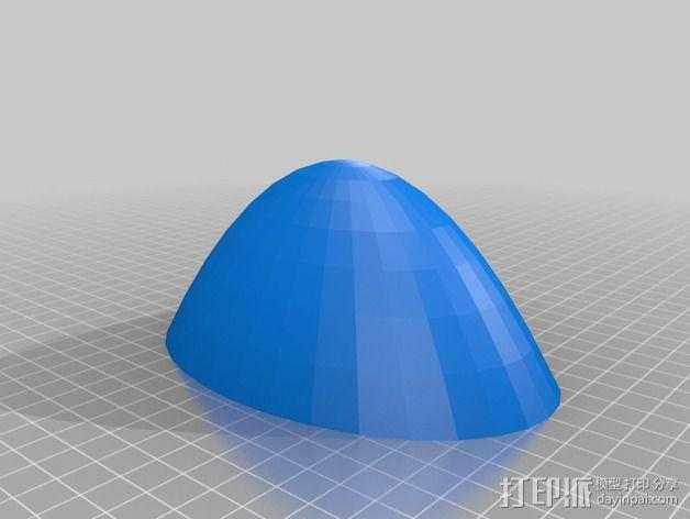 灯状加热器 3D模型  图3