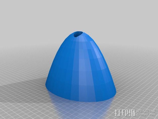 灯状加热器 3D模型  图5