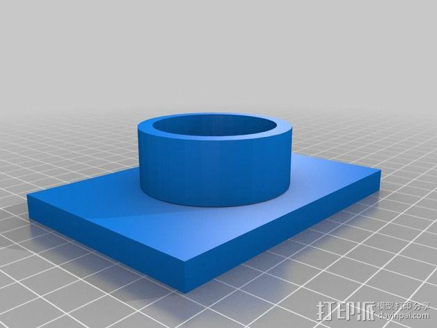 灯状加热器 3D模型  图4
