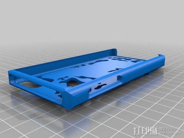 iPhone 5s手机壳 3D模型  图2