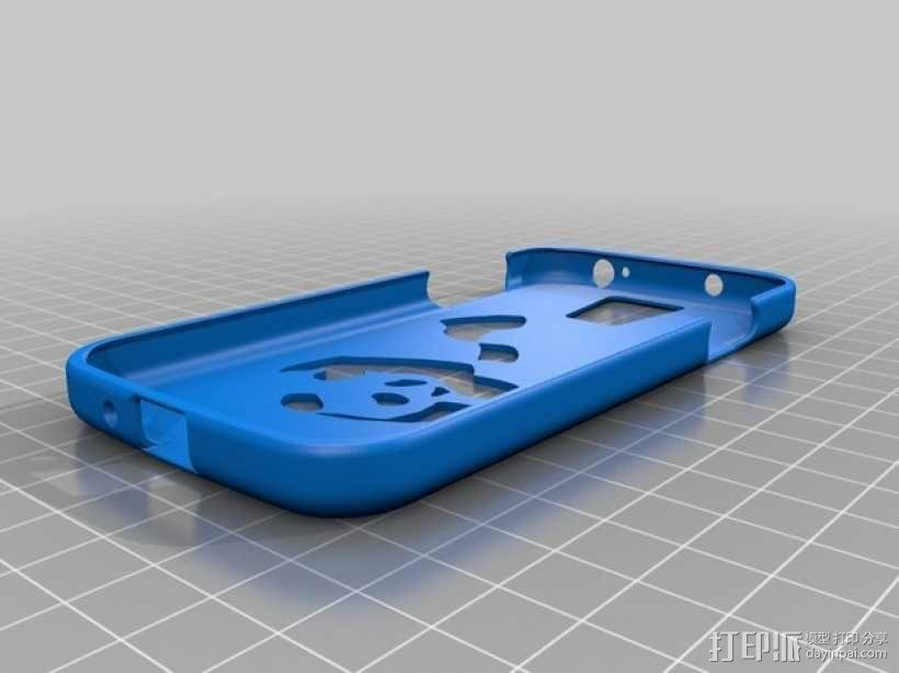 Samsung s4 手机壳 3D模型  图3