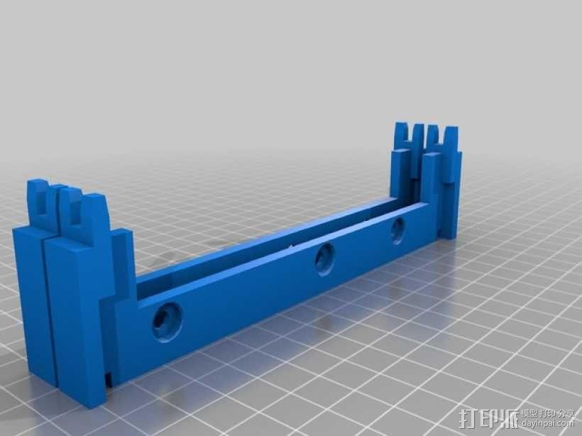 专门为转硬盘设计的壳子 3D模型  图1