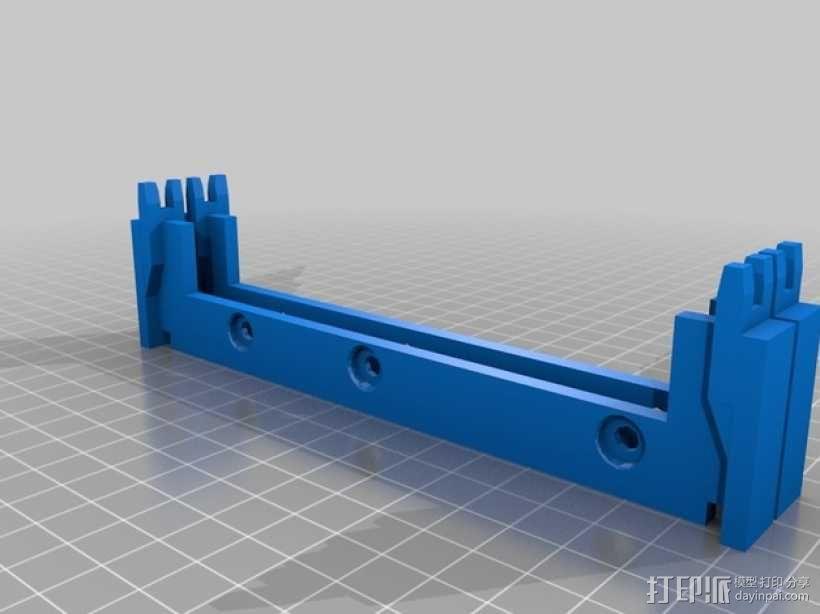 专门为转硬盘设计的壳子 3D模型  图2