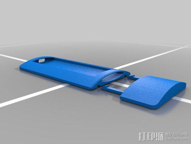 苹果遥控器壳子 3D模型  图1