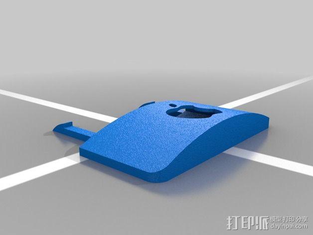 苹果遥控器壳子 3D模型  图2
