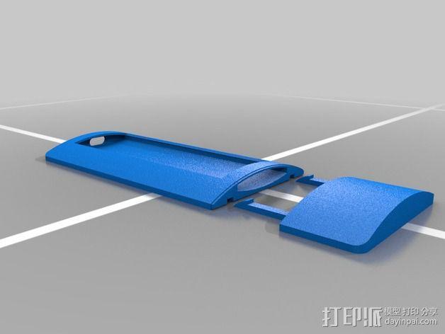 苹果遥控器壳子 3D模型  图5