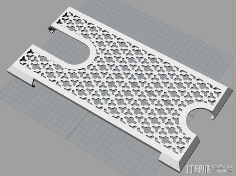 NOKIA 1520 手机壳 3D模型  图7