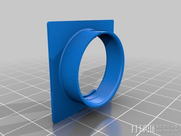 镜头盖 3D模型  图7