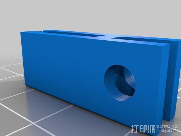 samsung s4车载手机座 3D模型  图3
