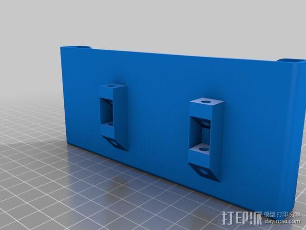 samsung s4车载手机座 3D模型  图4