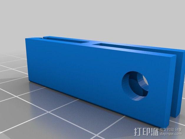 samsung s4车载手机座 3D模型  图2