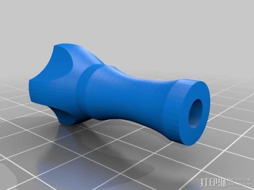 拇指螺丝 3D模型  图5