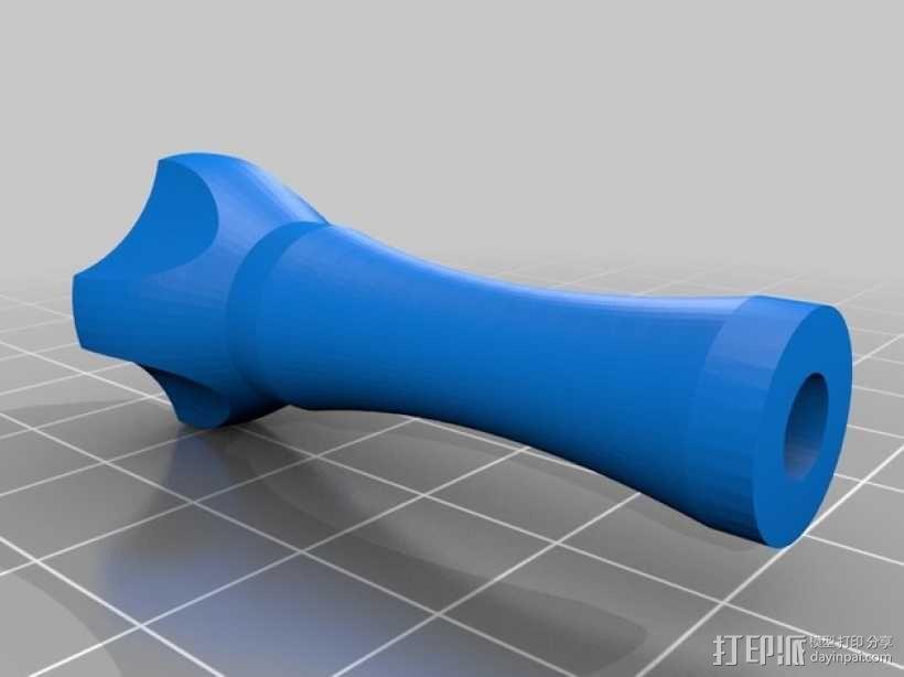 拇指螺丝 3D模型  图3