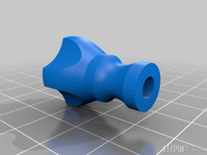 拇指螺丝 3D模型  图7