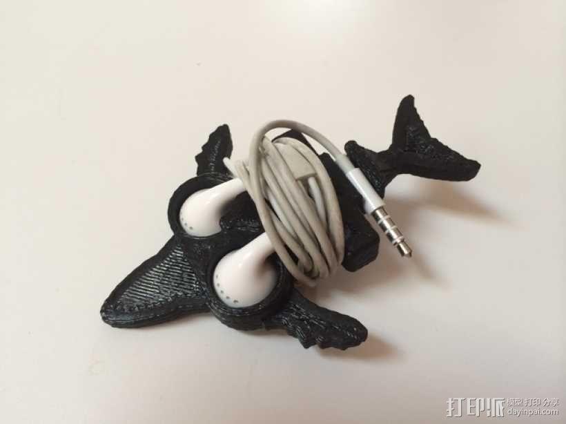鲸鱼绕线器 3D模型  图1