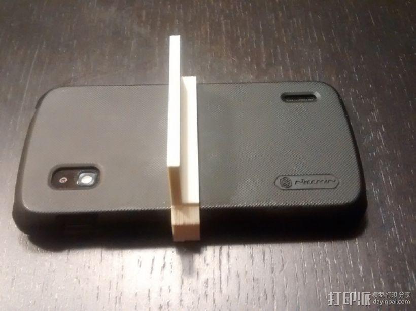 Nexus 4手机架 3D模型  图1