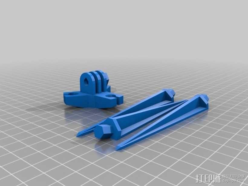 三脚架 3D模型  图3