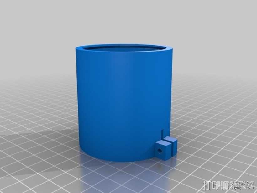 镜头适配器 3D模型  图1