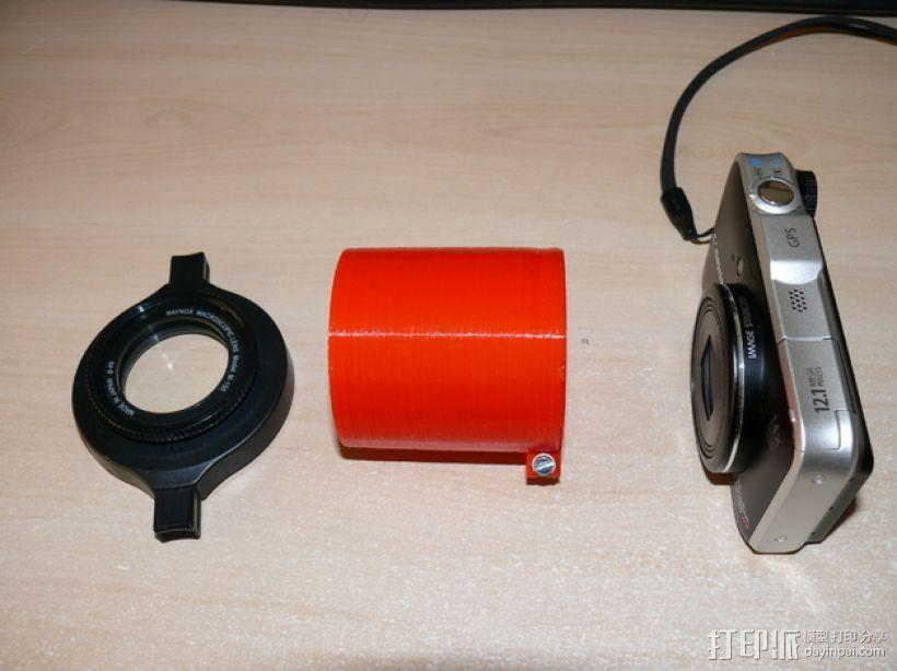 镜头适配器 3D模型  图3