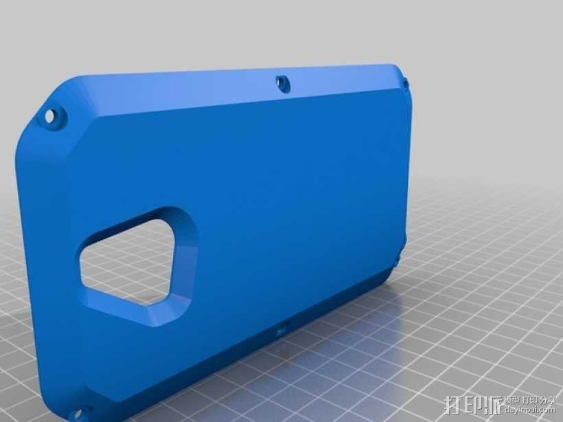 RapTik HTC ONE M8手机壳 3D模型  图2