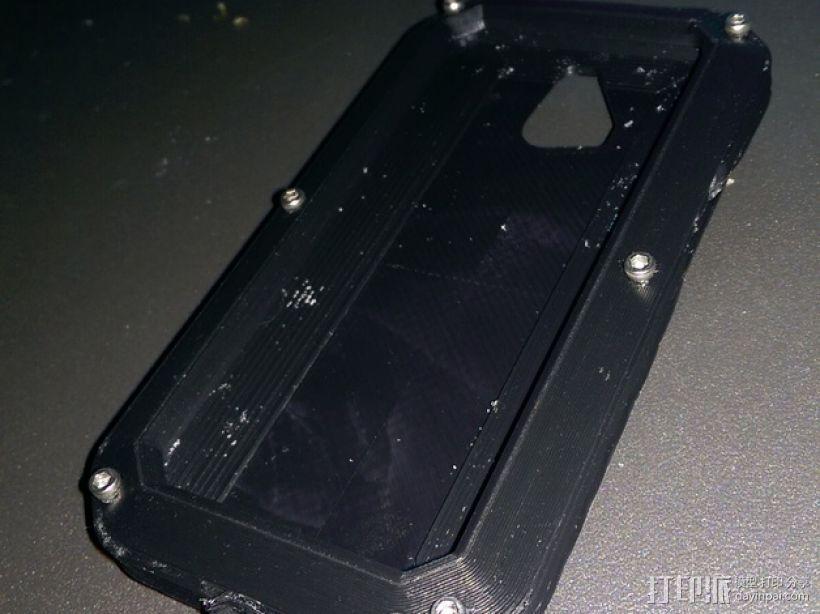 RapTik HTC ONE M8手机壳 3D模型  图1