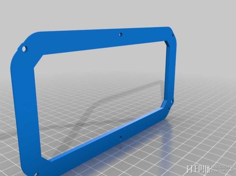 RapTik HTC ONE M8手机壳 3D模型  图4