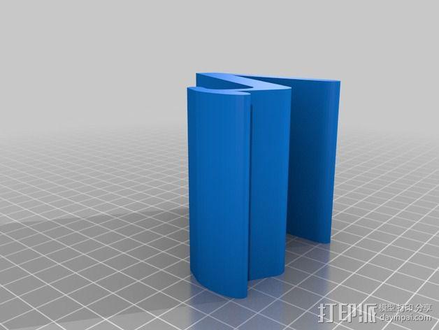 通用平板电脑座 3D模型  图4