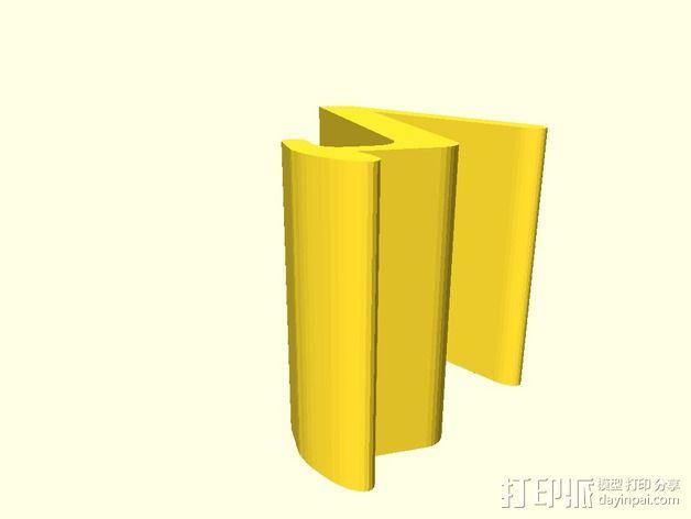 通用平板电脑座 3D模型  图2