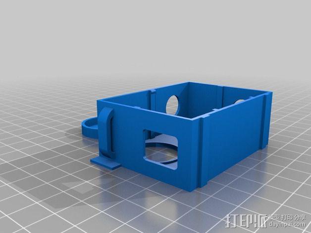 镜头盖 3D模型  图3