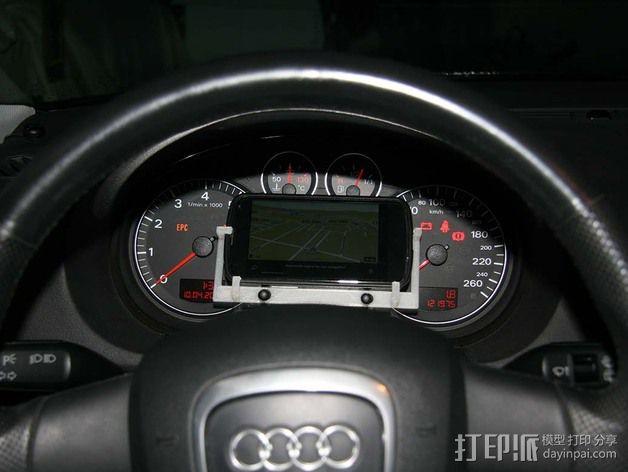 Nexus 4车载支架 3D模型  图4