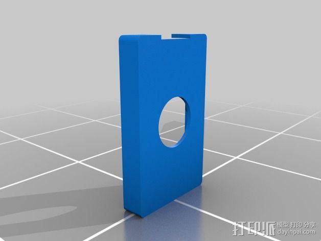 ipod classic手机壳 3D模型  图2