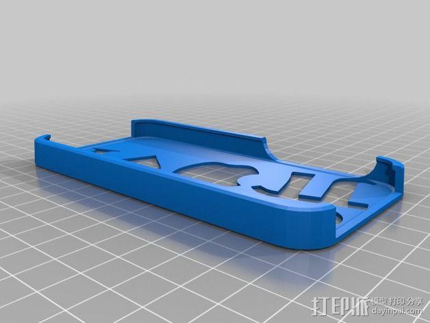 Iphone 5 手机壳 3D模型  图2
