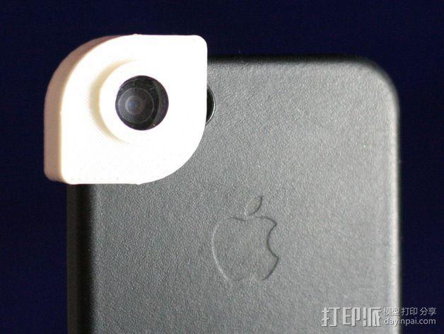 iPhone 5s 滤镜 3D模型  图1
