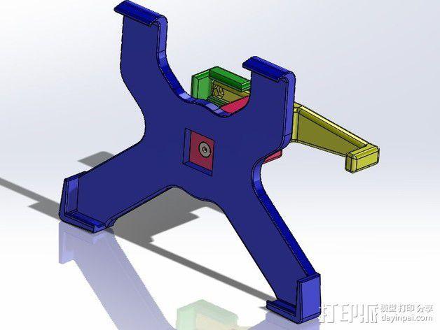ipad2支架 3D模型  图1