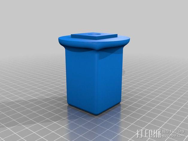 ipad2支架 3D模型  图4