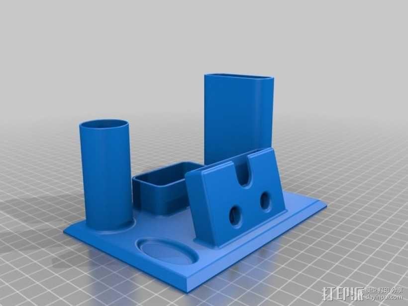 Iphone 5手机座 3D模型  图1