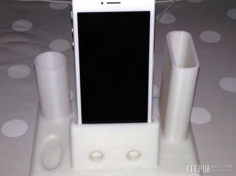 Iphone 5手机座 3D模型  图2