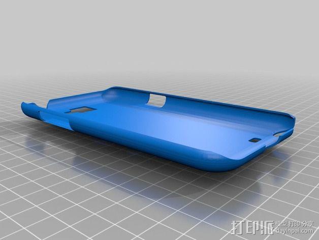 galaxy note 2手机壳 3D模型  图2