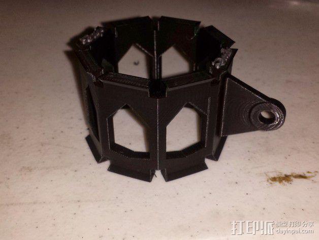 麦克风控制杆 3D模型  图2